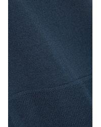 Alexander Wang - Blue Wool-Blend Top - Lyst