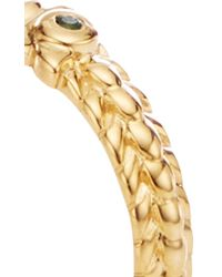 Monica Rich Kosann - Metallic 18k Yellow Gold Owl Poesy Ring - Lyst