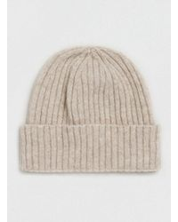 TOPMAN | Natural Premium Camel Cashmere Beanie for Men | Lyst