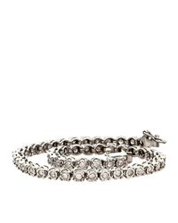 Lord & Taylor | Metallic Diamond And Sterling Silver Tennis Bracelet, 1.0 Tcw | Lyst
