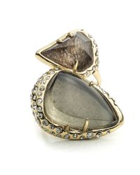 Alexis Bittar - Metallic Kinetic Gold Stacked Cocktail Ring You Might Also Like - Lyst