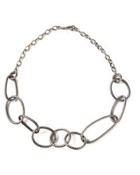 Bottega Veneta | Metallic Chain Necklace | Lyst