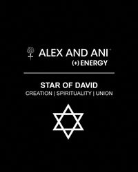 ALEX AND ANI | Metallic Star Of David Bangle | Lyst