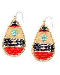 Nakamol - Multicolor Tatonga Earrings-Coral Mix - Lyst