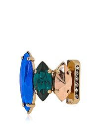 Iosselliani - Multicolor Tropical Baroque Ring - Lyst