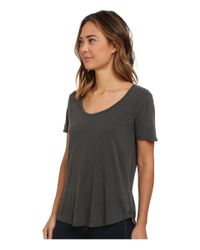 Obey - Gray Patti Tee - Lyst