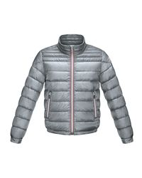 Moncler - Gray Daniel Zip-Front Quilted Jacket - Lyst