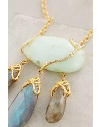 Indulgems | Blue Three Fishes Pendant Necklace | Lyst