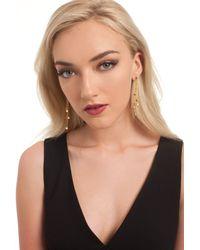 Trina Turk - Metallic Shower Linear Earring - Lyst