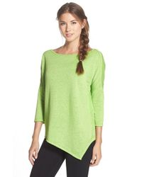 Betsey Johnson - Green Asymmetrical Pullover - Lyst