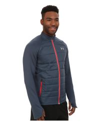 Under Armour | Blue Ua Storm Coldgear® Infrared Hybrid Jacket for Men | Lyst