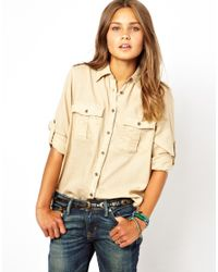 Ralph Lauren | Natural Expedition Shirt | Lyst