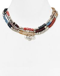 Uno De 50 | Multicolor Spring Multi Color Necklace, 16"