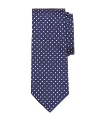 Brooks Brothers | Blue Small Dot Print Tie for Men | Lyst