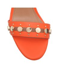 Miss Kg | Orange Erica High Heel Sandals | Lyst
