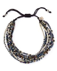 Chan Luu | Multicolor Multi Strand Bracelet | Lyst