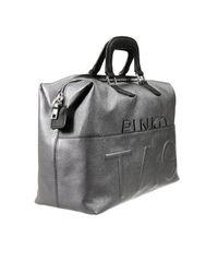 Pinko - Gray Handbag Woman - Lyst