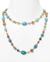 Ralph Lauren | Multicolor Lauren Royal Palms Necklace | Lyst