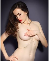 Agent Provocateur | Metallic Crystal Collar Gold | Lyst