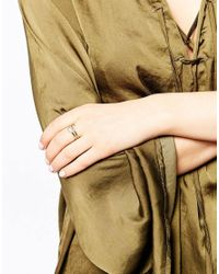 Eyland - Metallic Cantil Double Wrap Snake Ring - Lyst