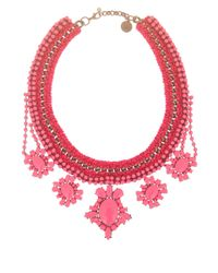 Venessa Arizaga | Pink Crazy For You Necklace | Lyst