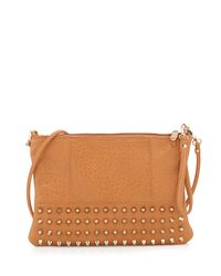 3f91a7755 Lyst - Urban Originals Eve Studded Crossbody Bag in Brown