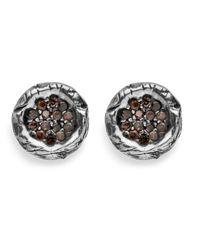Platadepalo - Multicolor Classic Small Zircon Earring - Lyst