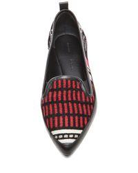 Proenza Schouler - Black Textile Flats - Lyst
