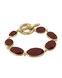 Karen Kane | Metallic Reflection Pool Link Bracelet | Lyst