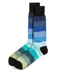Paul Smith   Blue Stripe Rainbow Socks for Men   Lyst
