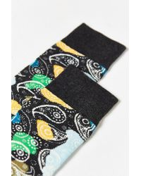 Happy Socks - Gray Mini Paisley Sock for Men - Lyst