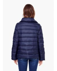 Mango | Blue Water-repellent Feather Coat | Lyst