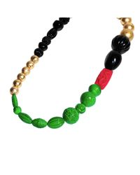 FLorian | Red Oriental Beaded Necklace | Lyst