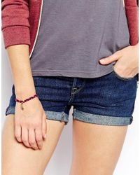 Jack Wills - Purple Brettell Friendship Bracelet - Lyst