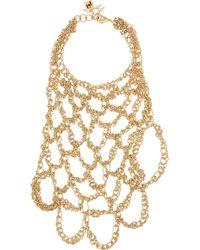 Rosantica | Metallic Penelope Gold-Tone Finger Bracelet | Lyst