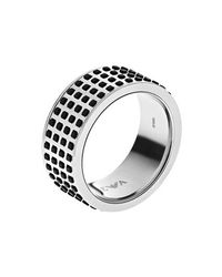 Emporio Armani | Metallic Egs2118040002 Mens Ring for Men | Lyst