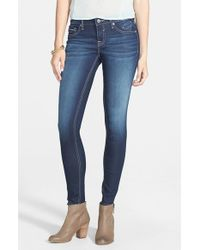 Vigoss - Blue Skinny Jeans - Lyst