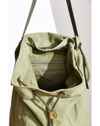 BDG - Green Xl Flap Army Tote Pack - Lyst