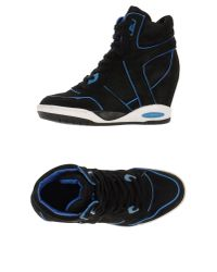 Ash - Blue High-tops & Trainers - Lyst