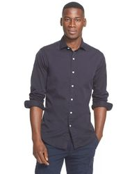 Polo Ralph Lauren | Blue Trim Fit Sport Shirt for Men | Lyst