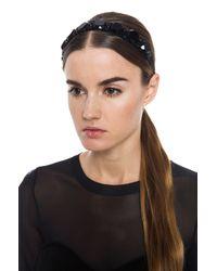 Marni - Black Jeweled Headband - Lyst