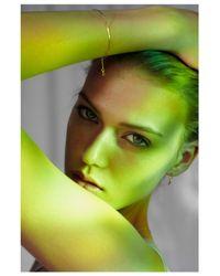 Saskia Diez | Metallic Wire Bracelet | Lyst