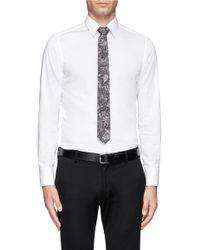 Mauro Grifoni - Multicolor Print Cotton Tie for Men - Lyst