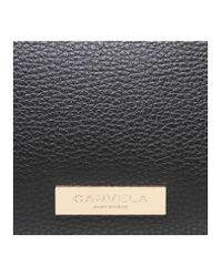 Carvela Kurt Geiger | Black Fina Lock Croc Tote | Lyst