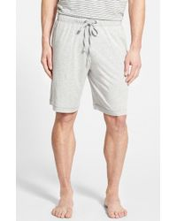 Daniel Buchler | Gray Pima Cotton & Modal Lounge Shorts for Men | Lyst