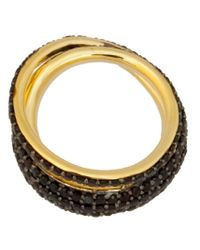 Tom Binns   Metallic 'saturn' Ring   Lyst