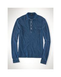 Polo Ralph Lauren | Blue Estate Cotton Mesh Polo for Men | Lyst