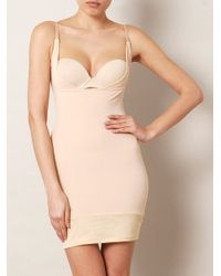 Yummie By Heather Thomson | Natural Lavonne Slip Dress | Lyst