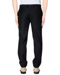 GAUDI - Black Casual Trouser for Men - Lyst