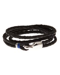 Miansai | Black Trice Braided Leather Bracelet for Men | Lyst